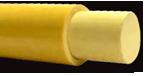 Fiberglasstiel-Kern-Vollmaterial