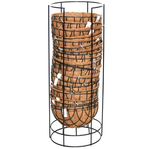 Komplett-Baskets im Displayständer mit Kokoseinsatz