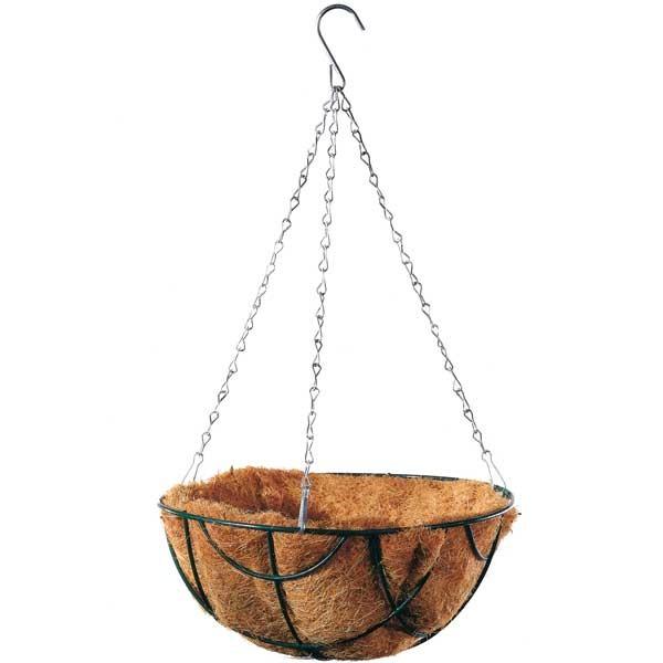 Hanging Basket mit Kokoseinsatz