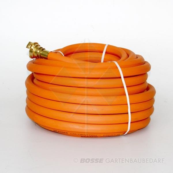 Schlauch Vollgummi Orange