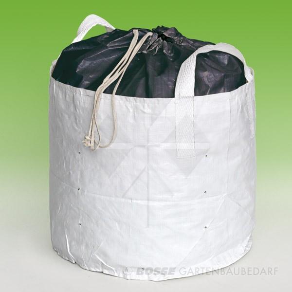 Baumschulcontainer PlantinBag® weiß mit Deckel