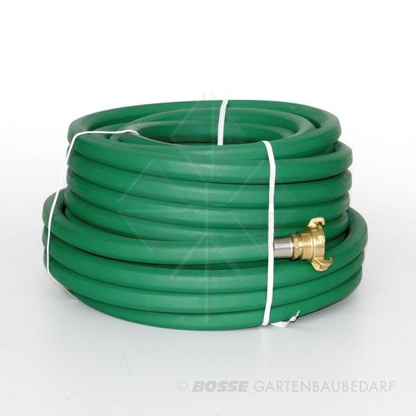 Schlauch Vollgummi Grün